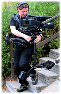 Mikko with Steadicam Archer
